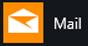 Mail-App für Windows 10, wie sie im Windows-Startmenü angezeigt wird