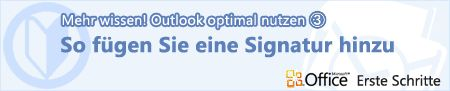 Useful feature:  Making the most of Outlook (3) Add a signature