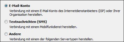 Outlook 2010 – Neues E-Mail-Konto hinzufügen – E-Mail-Konto