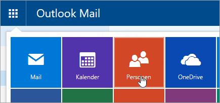 "Screenshot der Kachel ""Personen"" im App-Startfeld"