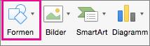 PowerPoint für Mac-Formen