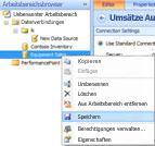 Option 'Datenquelle speichern' im Arbeitsbereichsbrowser der Dashboard-Designer-Benutzeroberfläche