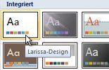 Klicken auf 'Office-Design'