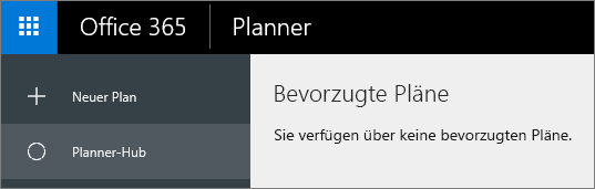 """Wählen Sie im Planer """"Neuer Plan"""" aus."""