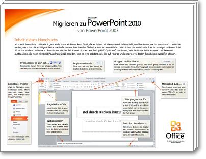 Miniaturansicht des PowerPoint-Migrationshandbuchs