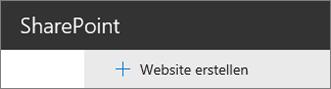 """Befehl """"Website erstellen"""""""