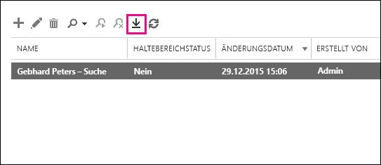 """Klicken Sie auf """"In PST-Datei exportieren""""."""