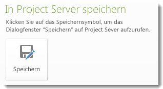 Bild 'Speichern auf dem Server'
