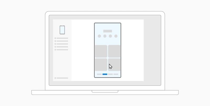 Ein animiertes Lernprogramm, das zeigt, wie Sie Dateien von Ihrem Android-Gerät auf Ihren PC ziehen.