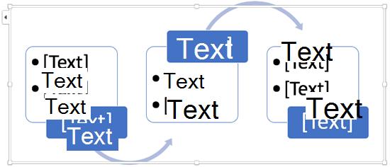 Ersetzen Sie die Text Platzhalter durch die Schritte in Ihrem Flussdiagramm.