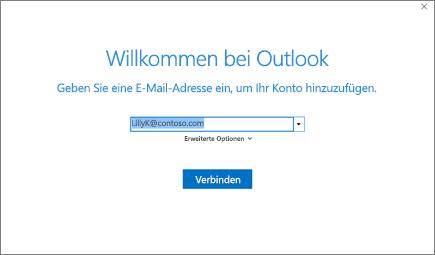 Willkommen bei Outlook