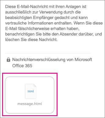 OME Viewer für iOS Mail-App 1