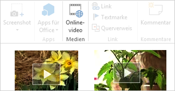 Onlinevideo in Word-Dokument