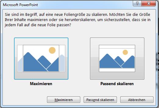 Wenn Sie sich für die Vergrößerung entscheiden, befinden sich einige Inhalte möglicherweise außerhalb des druckbaren Bereichs, wie Sie im Bild links sehen.