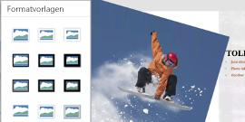 Bildformatvorlagen in PowerPoint für Android