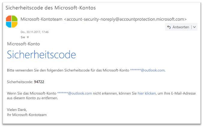 Microsoft seriösen Kennwort zurücksetzen