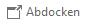 """Wählen Sie im Outlook-Lesebereich am oberen Rand der Nachricht die Option """"Abdocken"""" aus. Anschließend können Sie das Menü """"Einfügen"""" verwenden."""