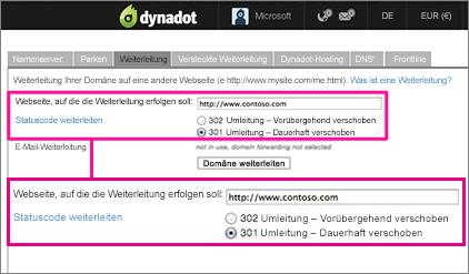 Dynadot-Umleitung-1