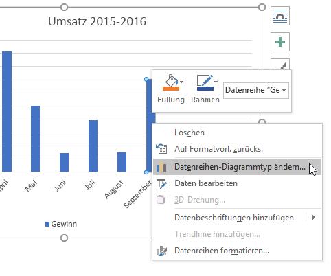Präsentieren von Daten in einem Säulendiagramm - Office-Support