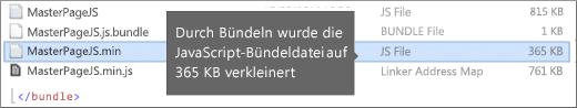 Screenshot mit verringerter Downloadgröße
