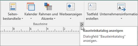 Publisher-Bausteine
