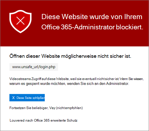 Diese Website ist gesperrt.