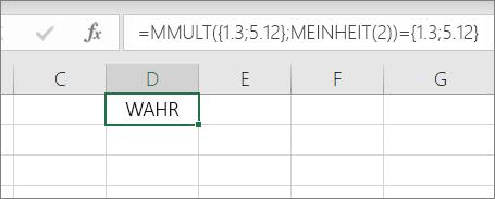 """Beispiel für die Funktion """"MUNIT"""""""