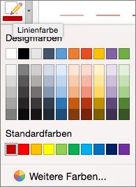 Farbe auswählen