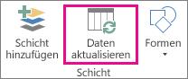 'Daten aktualisieren' auf der Registerkarte 'Start'