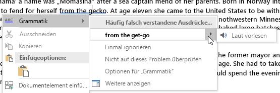 Grammatikfehler