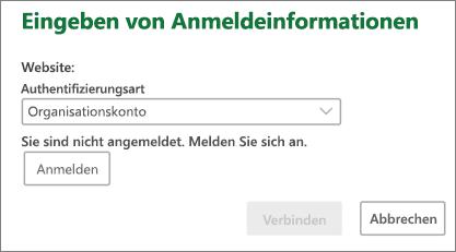 SharePoint der Eingabeaufforderung für Anmeldeinformationen auf dem Mac