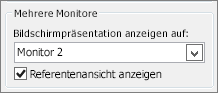 Monitoroptionen in PowerPoint 2010