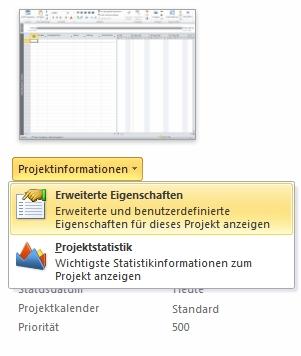 Menü 'Dateieigenschaften' (Abbildung).