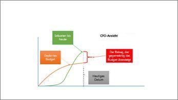 CFO-Ansicht mit Übersichtsinformationen