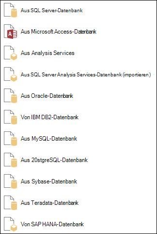 Abrufen von Daten aus einer Datenbank