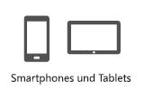 Telefone und Tablets