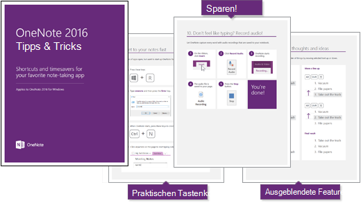 E-Book: OneNote 2016 Tips and Tricks