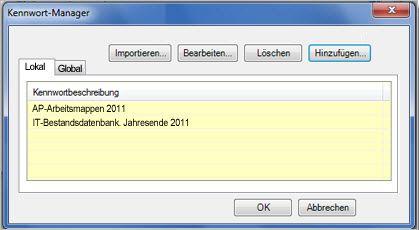 Kennwort-Manager