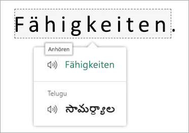 Übersetzen