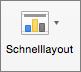 """Auf der Registerkarte """"Diagrammentwurf"""" die Option """"Schnelllayout"""" auswählen"""