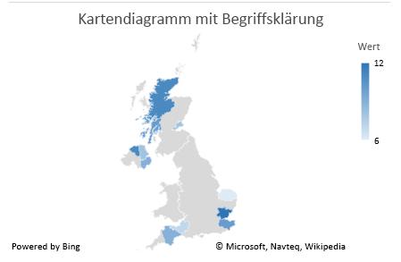 Excel-Kartendiagramm, Diagramm mit Begriffsklärungen zu mehrdeutigen Daten