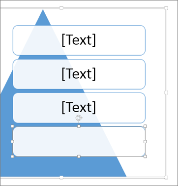 Ein weiteres Textfeld wird hinzugefügt