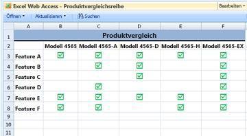 Excel Web Access-Webpart