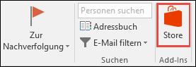 """Schaltfläche """"Speichern"""" in Outlook"""