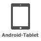 Symbol für Android-Tablet