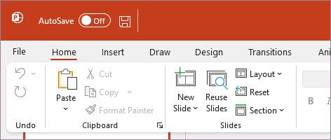 """PowerPoint mit dem Design """"Farbig"""""""