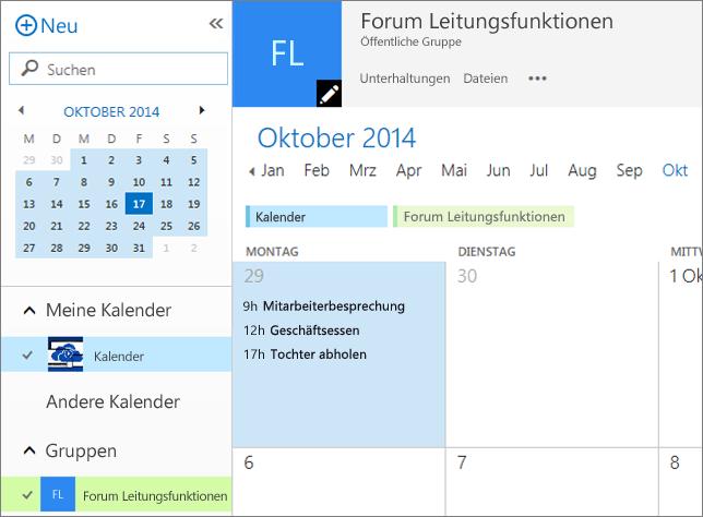 Gruppenkalender
