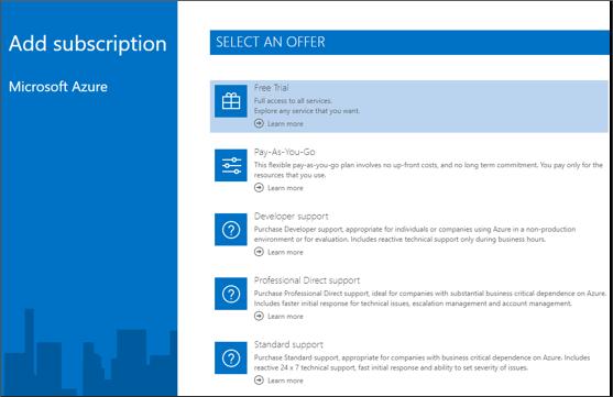 Screenshot der Anmeldung für kostenlose Testversion