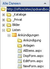 SharePoint Designer-Formulare