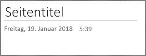 """Seite """"umbenennen"""" in OneNote für das Web"""